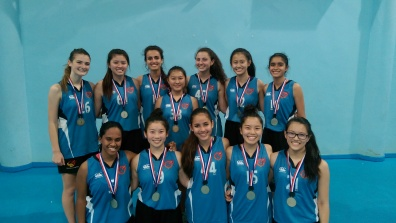 GIS U18 Girls Basketball Team - ISAC Div 1 Champions